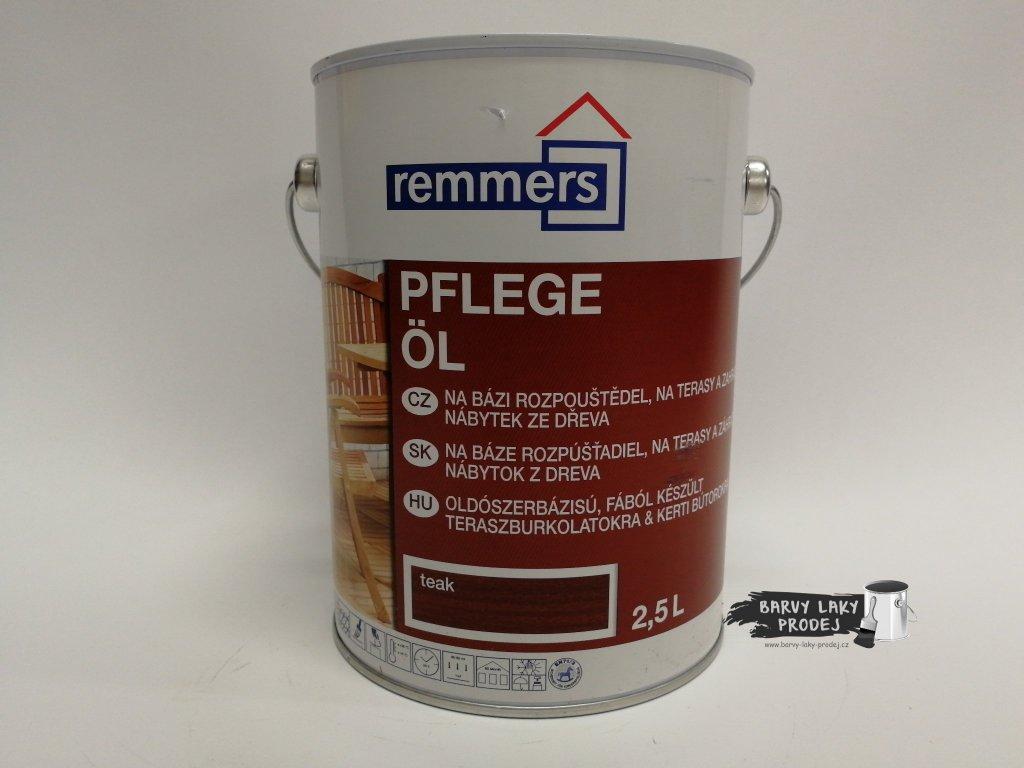 Remmers - Pflege Ol 2,5L teak -Top terasový  olej