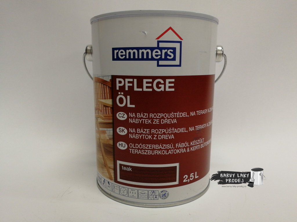 Remmers - Pflege Ol 2,5L modřín