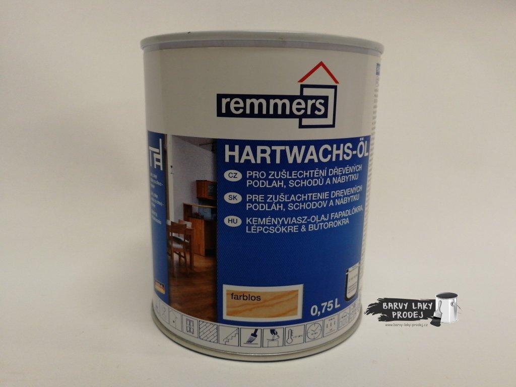 Remmers - Hartwachs Ol 0,75L dub rustikal                 Tvrdý voskový olej Premium