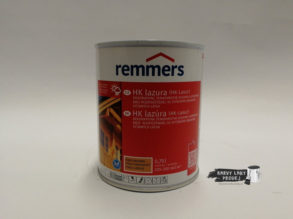 Remmers - HK Lasur 0,75L pinie