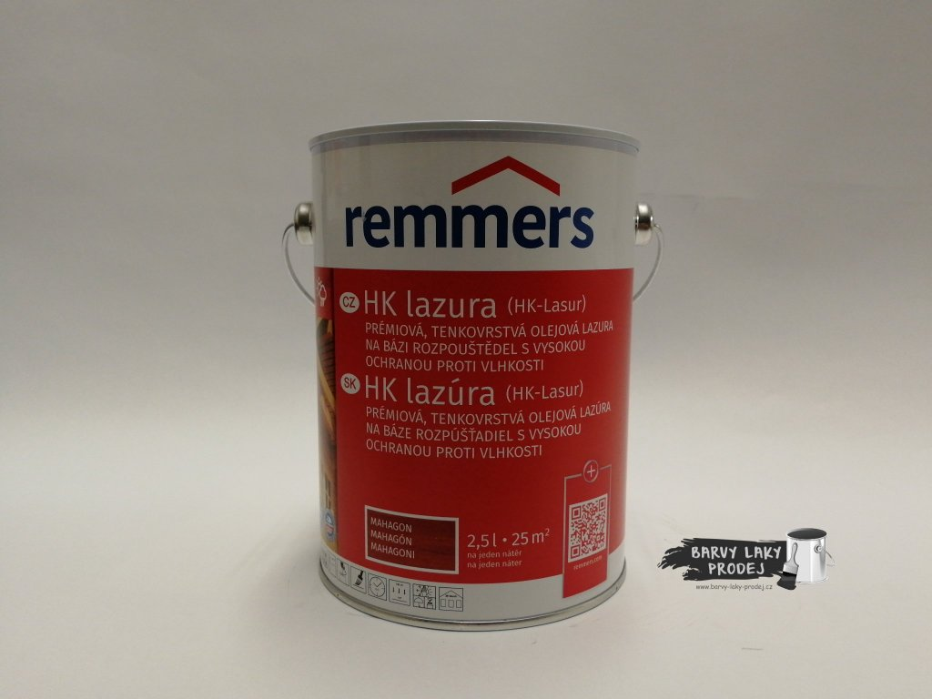Remmers - HK Lasur 2,5L mahagon