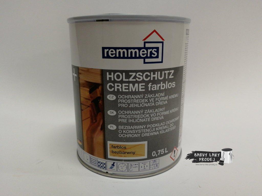 Remmers - Holzschutz-Creme 0,75L eiche hell