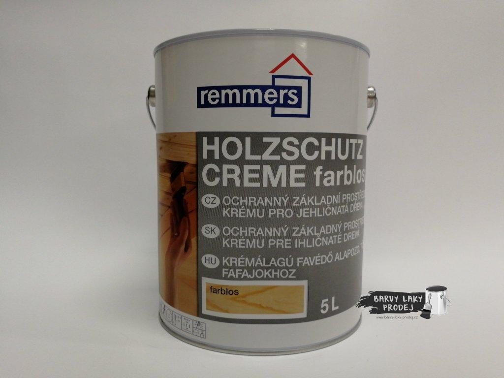 Remmers - Holzschutz-Creme 5L nussbaum