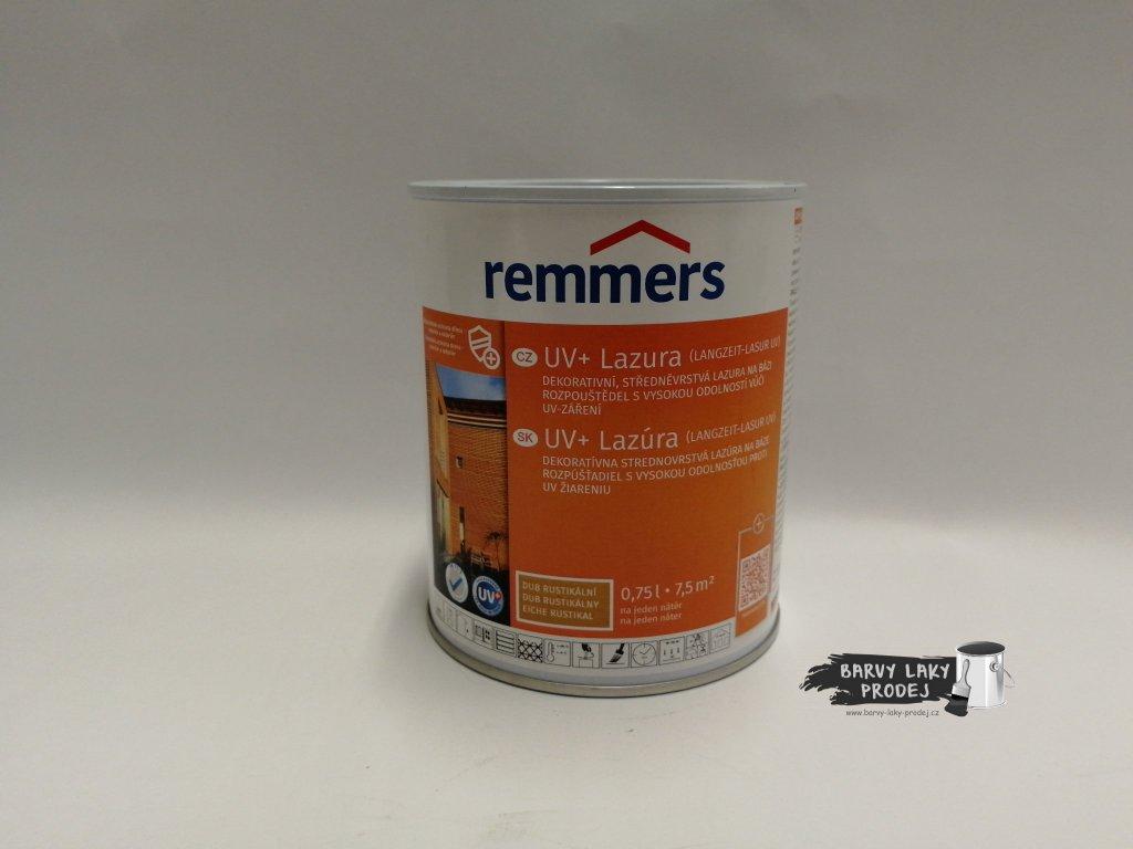 Remmers - Langzeit Lasur UV 0,75L rustikální dub