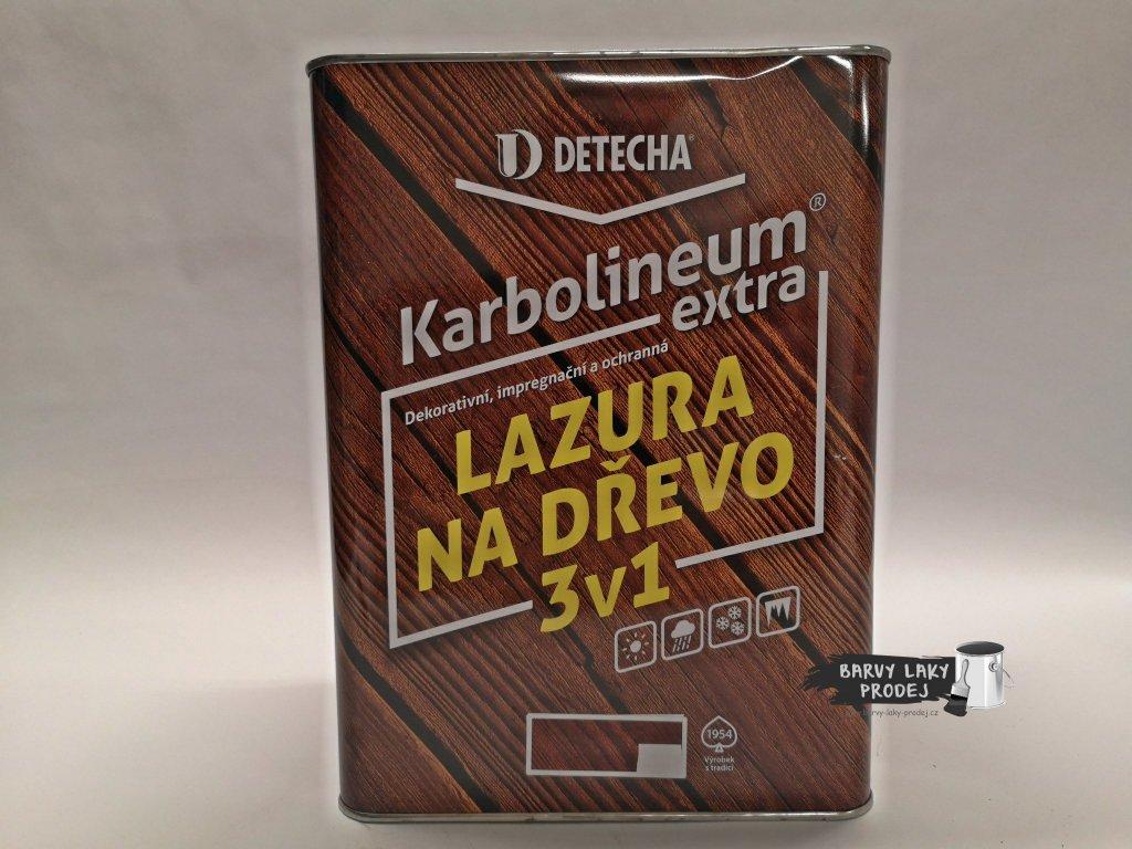 Karbolineum extra 8kg kaštan