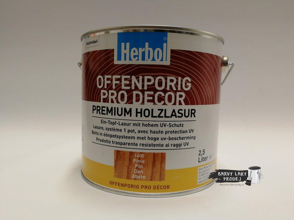 Herbol-Offenporig  pro-decor 2,5L pinie