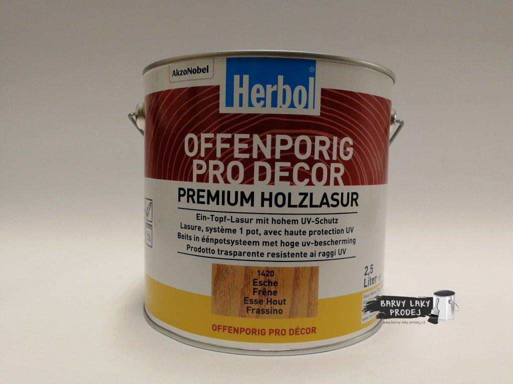 Herbol-Offenporig  pro-decor 2,5L jasan