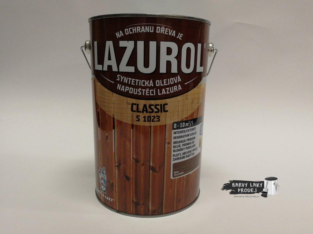 LAZUROL classic S-1023 kaštan 0020 4 L