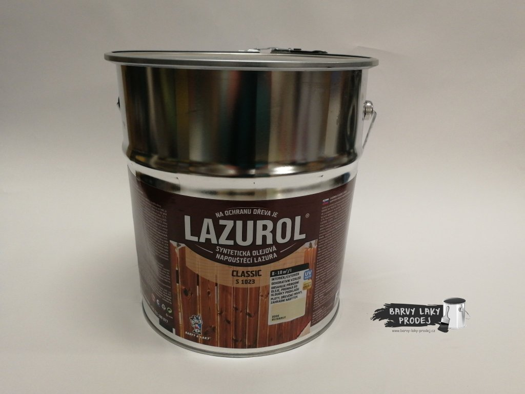 LAZUROL classic S-1023 ořech 0021 9L
