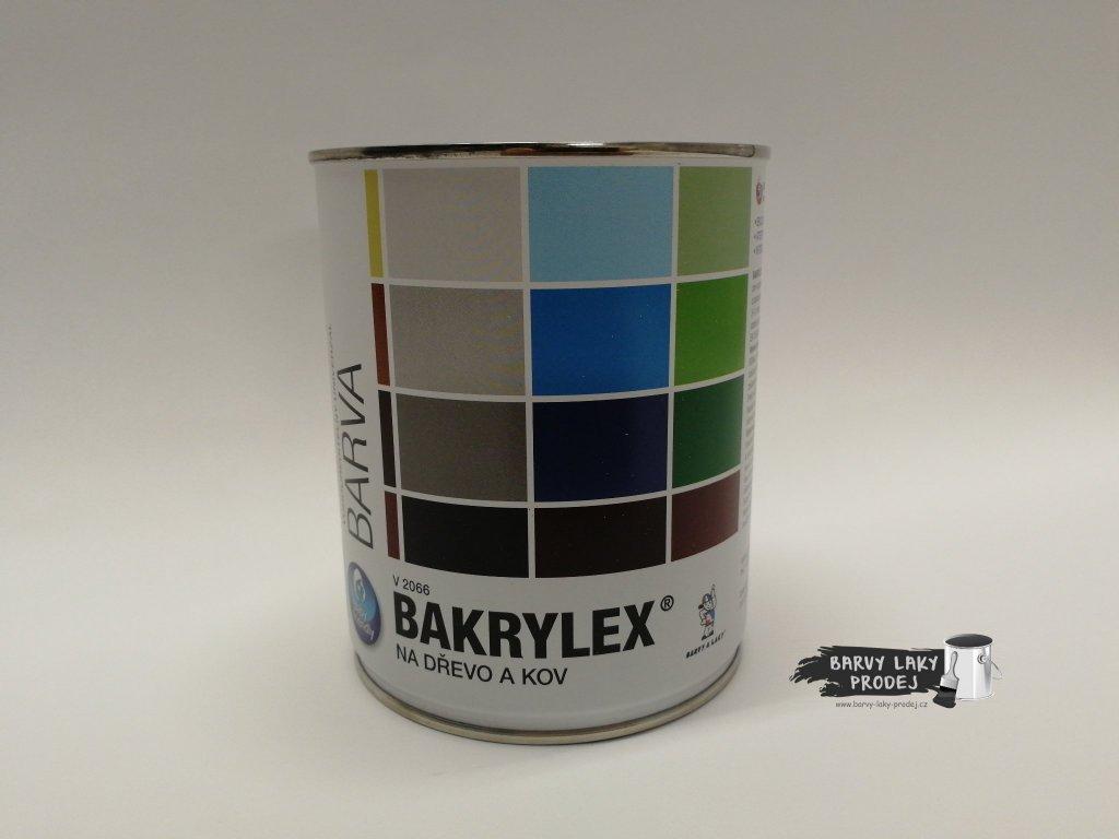 Bakrylex email mat (V-2066)/ 0100 0,7kg