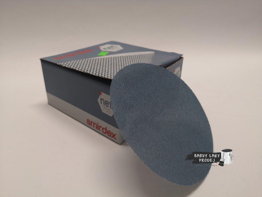 Smirkový disk 750 net velour pr.125/zrno 150
