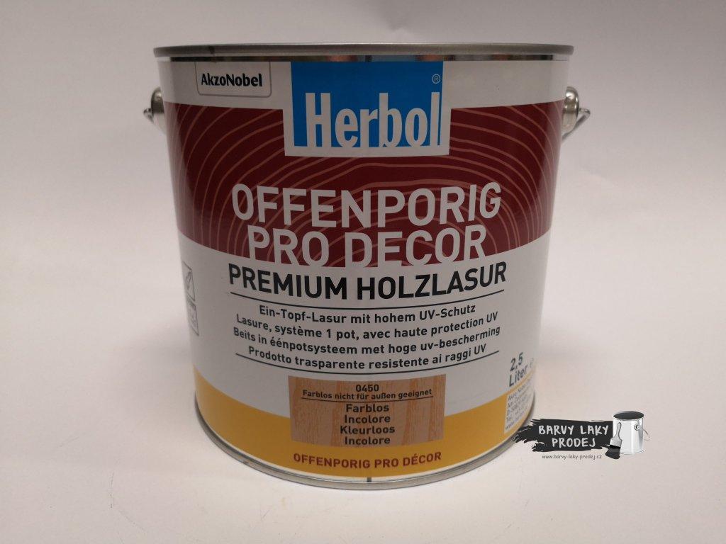 Herbol-Offenporig pro-dekor 5L