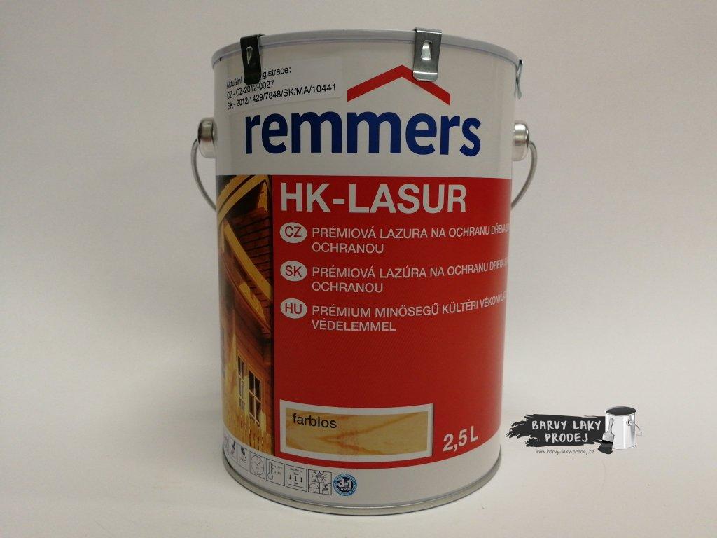 Remmers - HK Lasur 2,5L kaštan