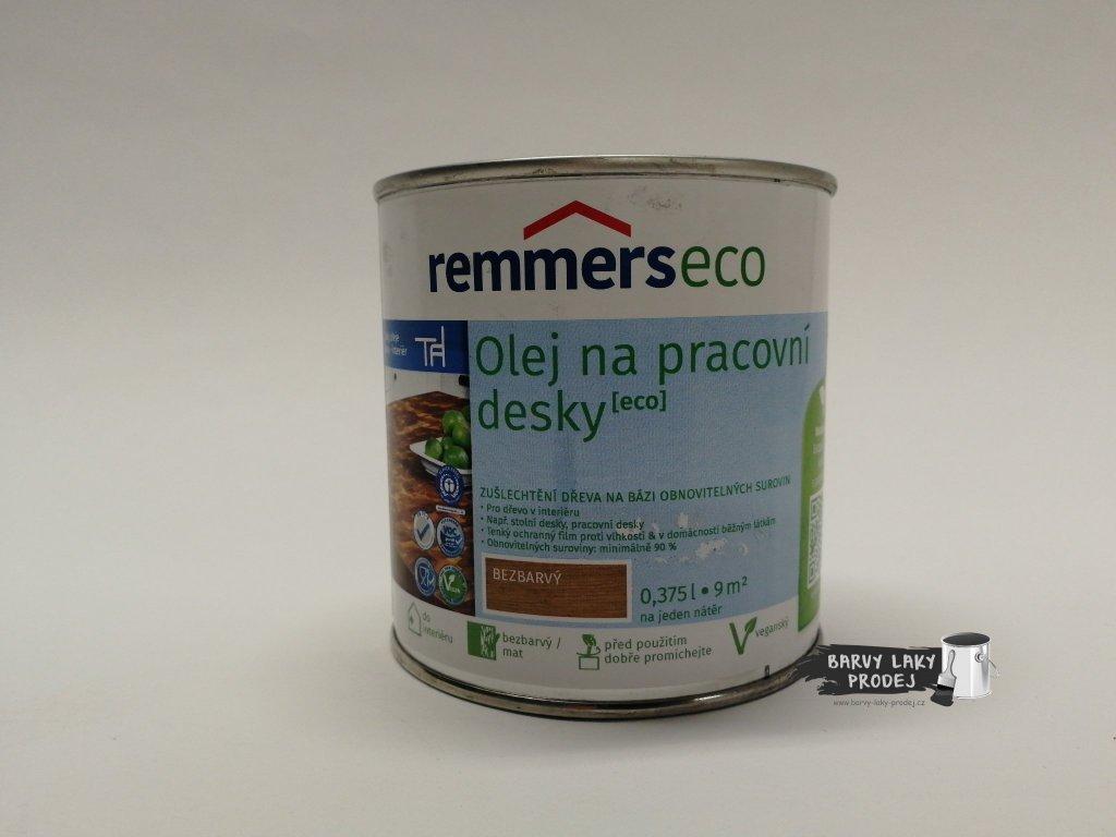 Remmers -  olej na pracovní desky (Arbeitsplatten)- ol /farblos 0,375l