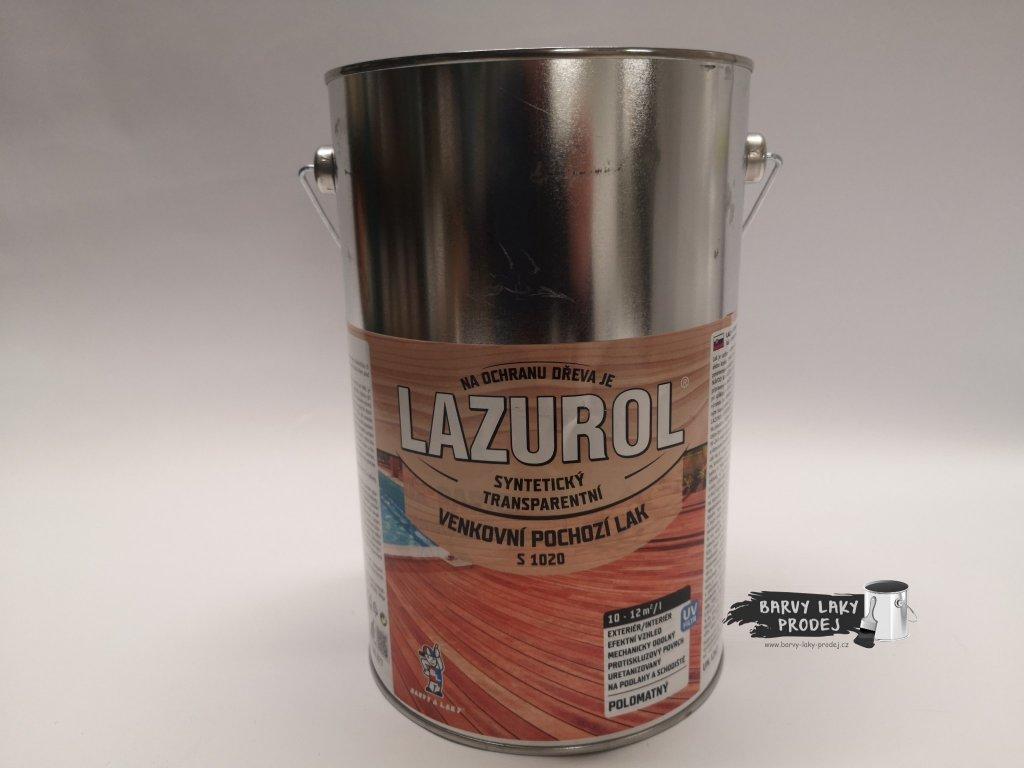 Lazurol venkovní pochozí lak 4 L (S-1020)