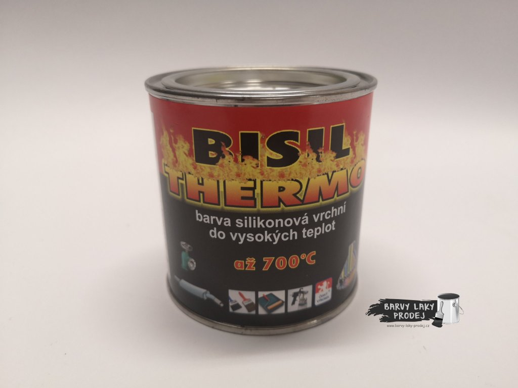 BISIL thermo,do vysokých teplot/stříbrný  0,35 kg