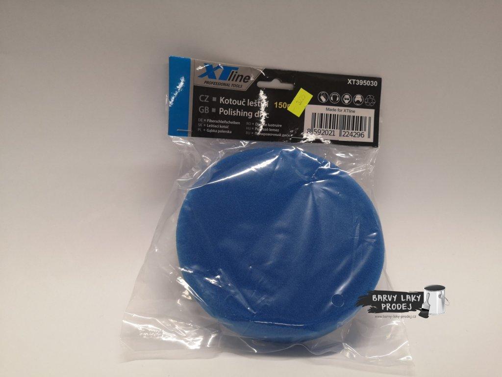 Leštící kotouč pěnový modrý 150mm finish jemný