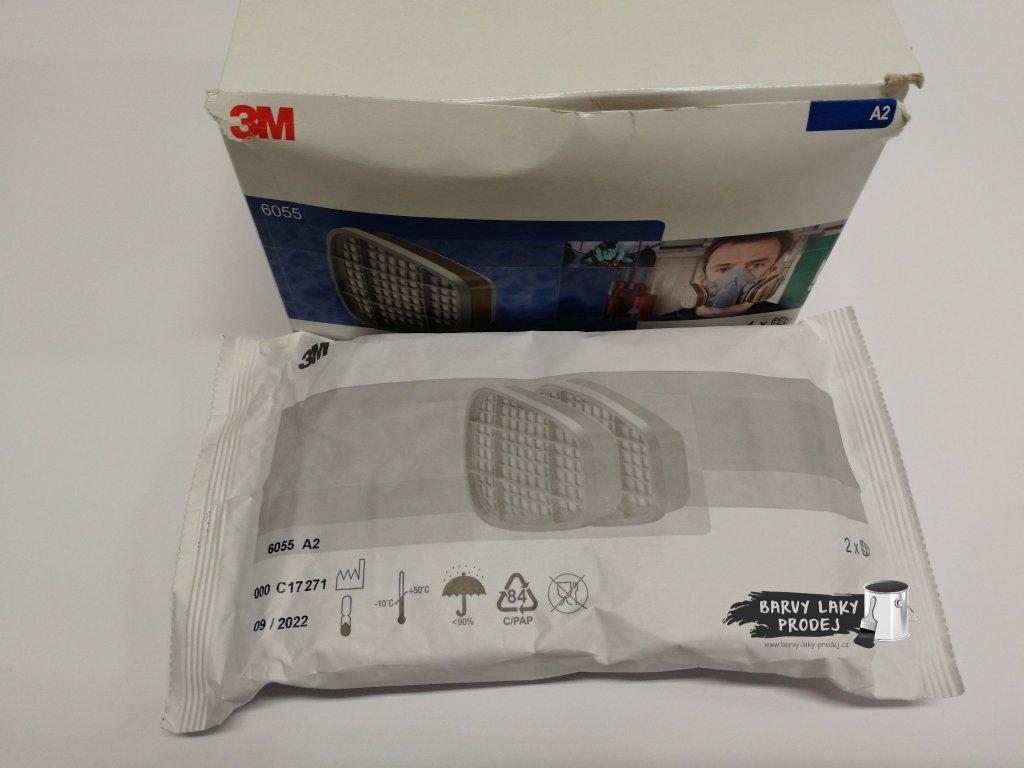 Předfiltr do masky 3M - A2 proti organickým výparům