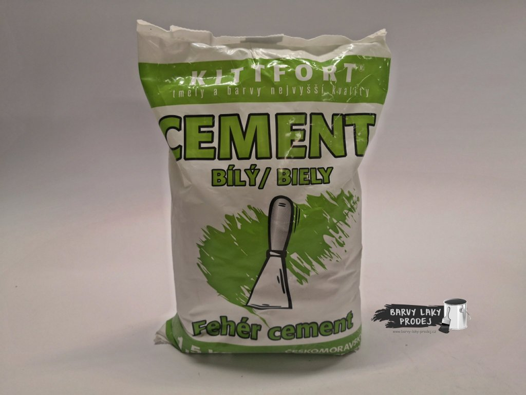 Cement bílý 1,5 kg