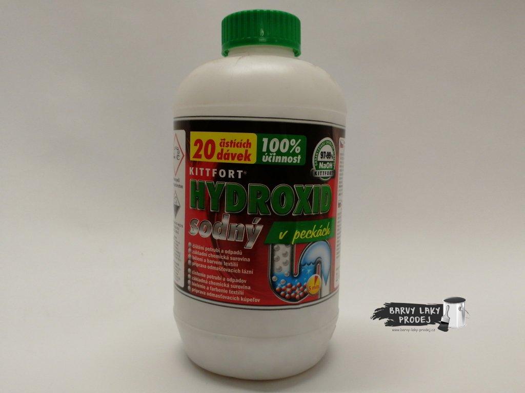 Hydroxid sodný 1kg v peckách