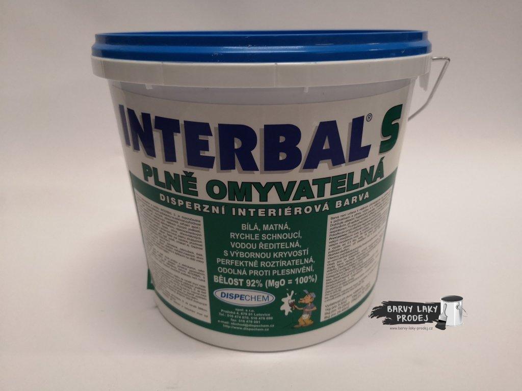 Interbal S - bílá  5kg