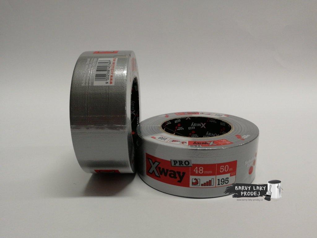 Páska textilní,opravná 48mm x 50m, X-WAY