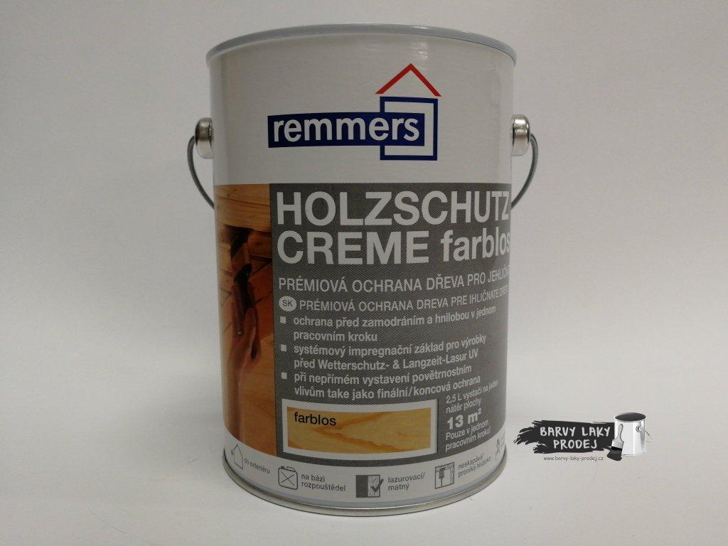 Remmers - Holzschutz-Creme 2,5L farblos