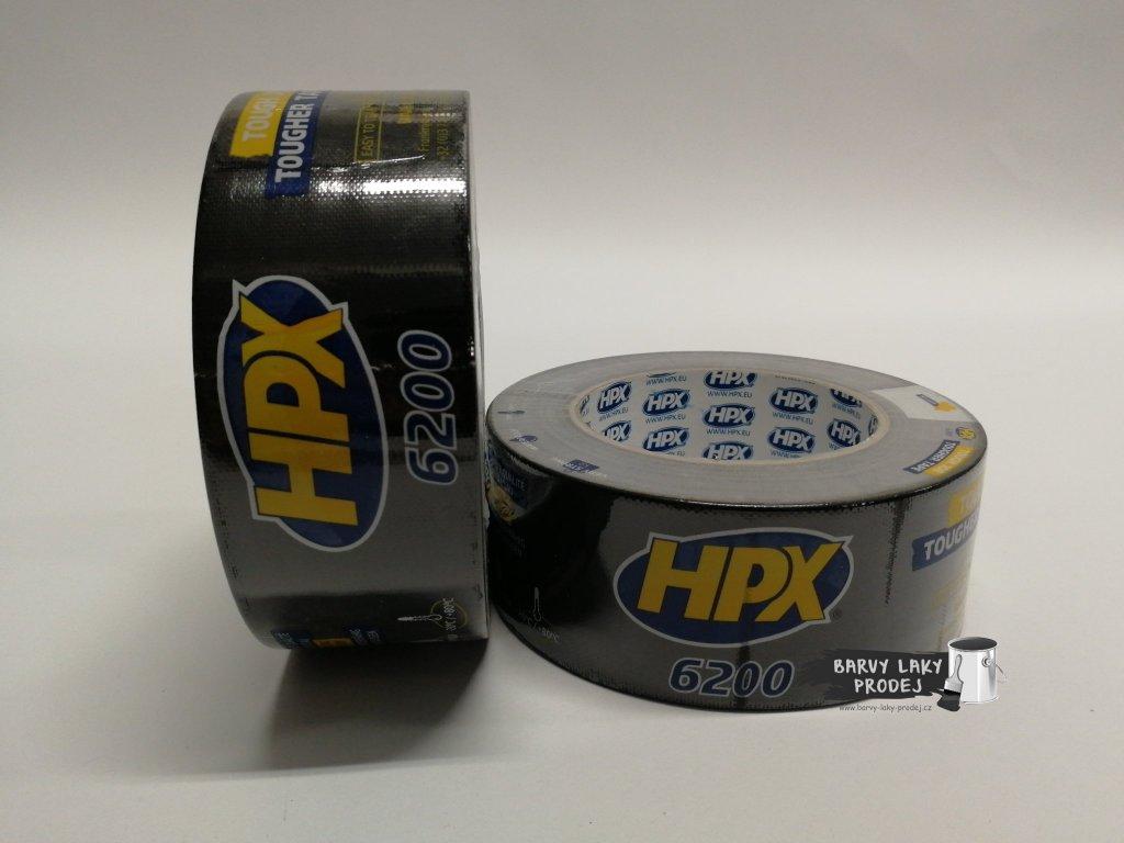 Páska textilní HPX 6200, 50mmx 25m(černá)