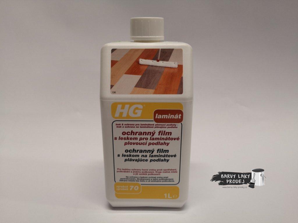 HG Ochranný film s leskem pro laminátové podlahy 1L