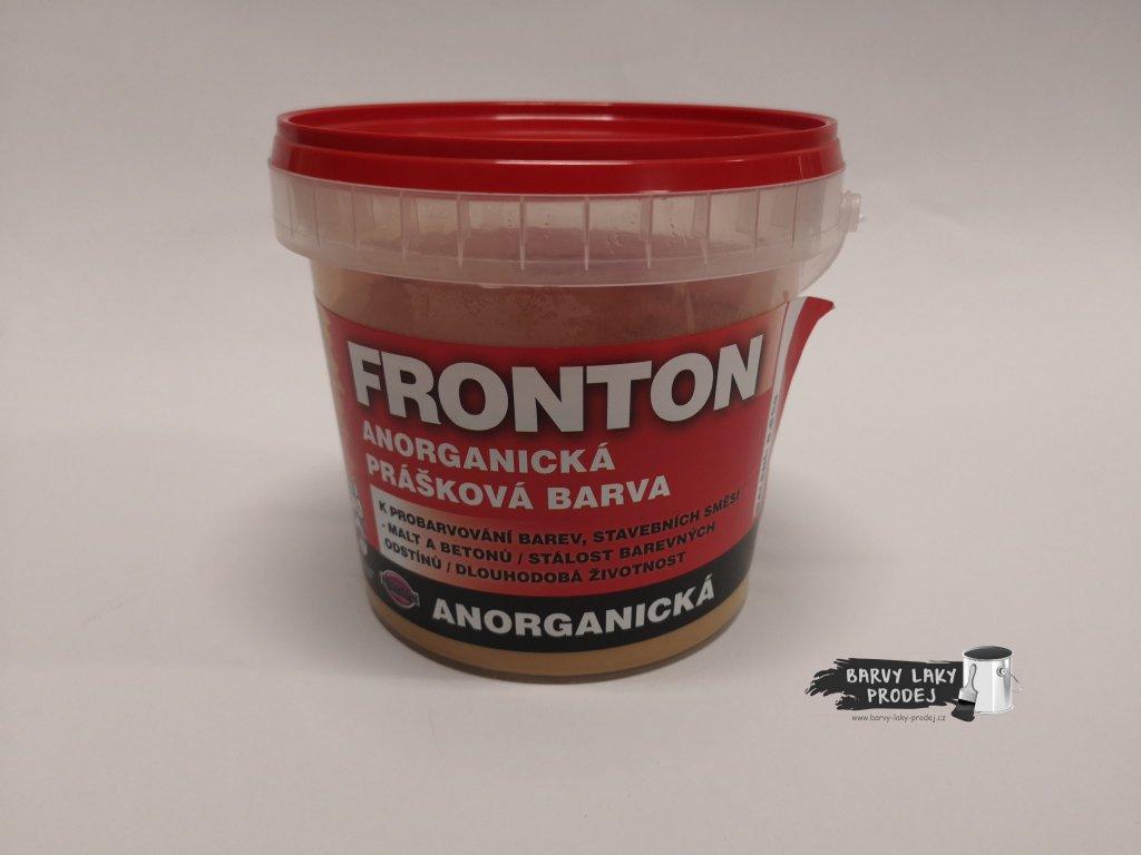 Fronton prášková barva 0664 okr 0,8kg