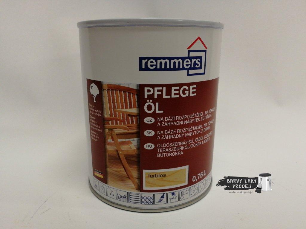 Remmers - Pflege Ol 0,75L bezbarvý -Top terasový  olej