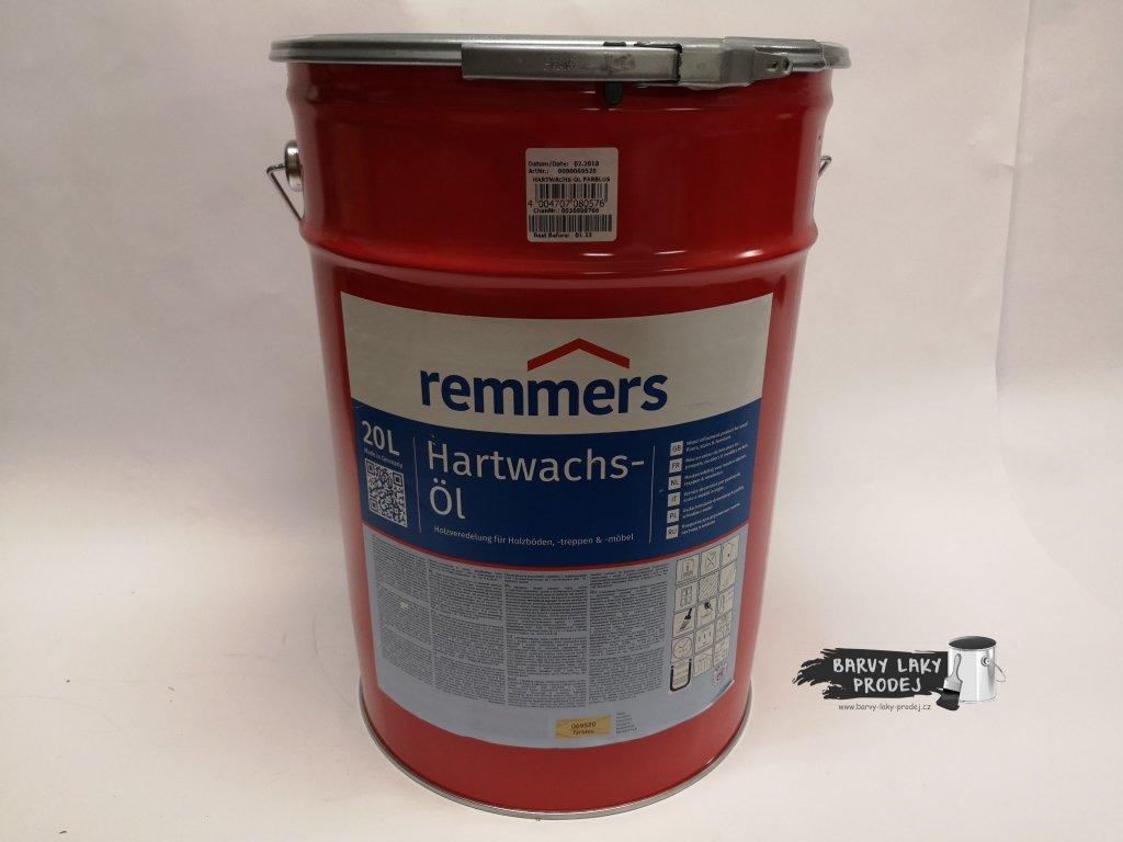 Remmers - Hartwachs Ol 20L bezbarvý  Tvrdý voskový olej Premium