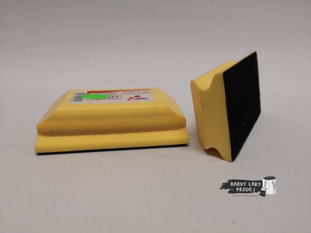 Brusný blok pryžovýVelcro 70x125mm,suchý zip