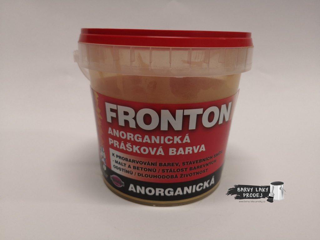 Fronton prášková barva 0651,0610 žlutá  0,8kg