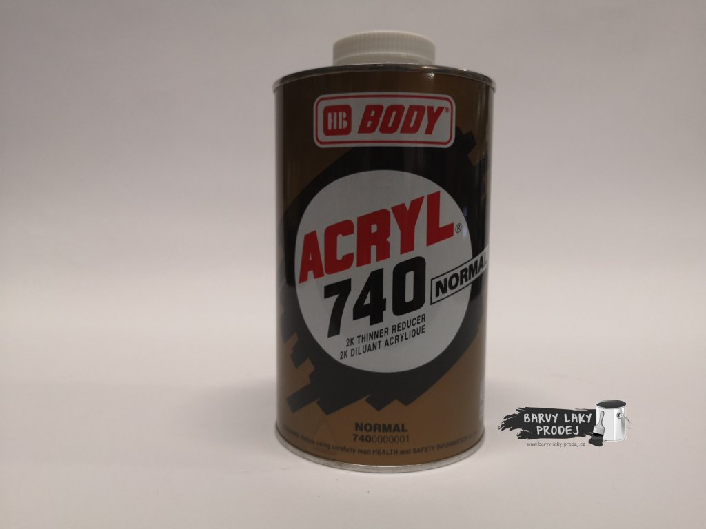BODY ACRYL 740 1L akrylátové ředidlo
