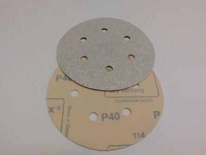 Smirkový disk VELCRO pr.150/ zrno 40s otvory