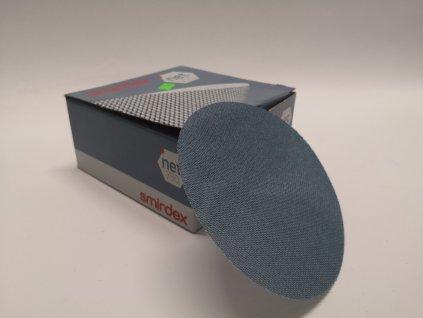 Smirkový disk 750 net velour pr.125/zrno 120