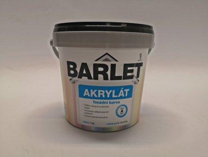 Fasádní barva Barlet Akryl/A bílá  1kg
