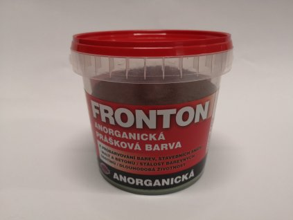 Fronton prášková barva 0281 hněď tm. 0,8 kg