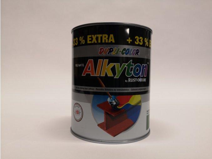 ALKYTON - color 1L lesk/kladívkový/satén