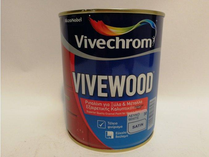 Vivewood(Perladin)bílý,satin 0,75L