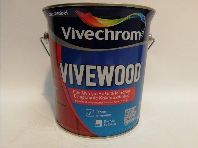 Vivewood(Perladin)bílý,lesk 2,5L