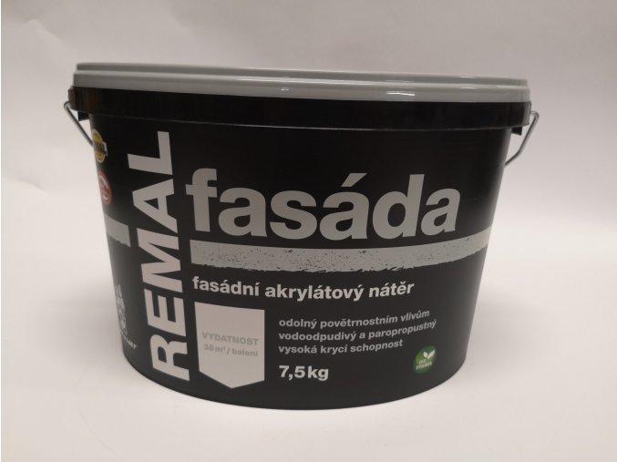 Fasádní barva REMAL Akryl  7,5kg bílá