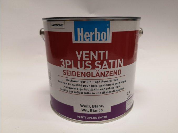 Herbol-VENTI3Plus satin,bílý 2,5L