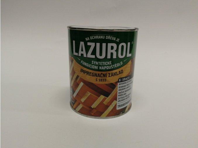 Lazurol S-1033, napouštědlo 0,75 L