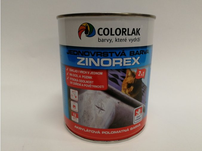 S-2211/RAL 3020 ZINOREX 0,6L