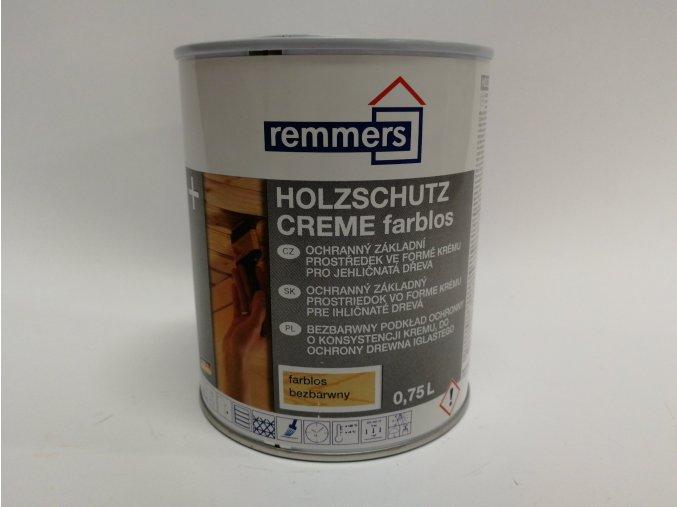 Remmers - Holzschutz-Creme 0,75L mahagon
