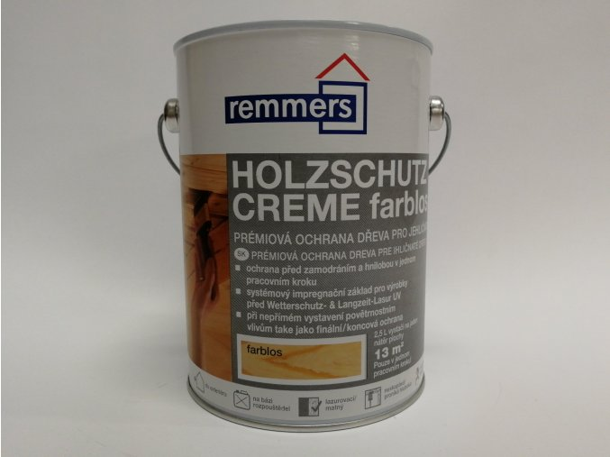 Remmers - Holzschutz-Creme 2,5L teak