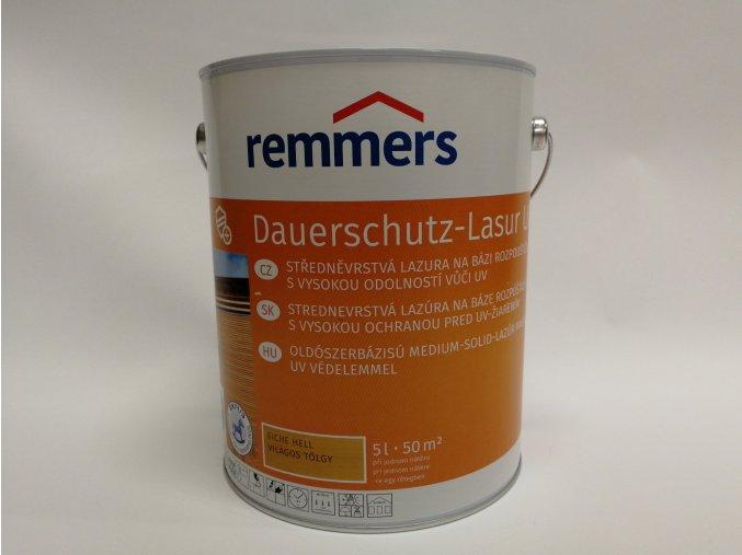 Remmers - Langzeit Lasur UV 5L rustikální dub