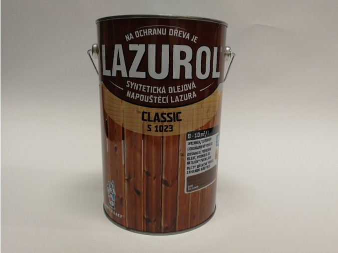 LAZUROL classic S-1023 ořech 0021 4 L